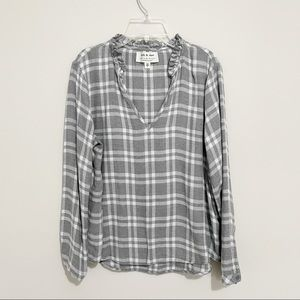 Cloth & stone Anthro Long Sleeve Cozy Pullover Top
